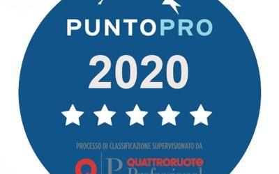 Riparte la Classificazione PuntoPRO supervisionata da Quattroruote Professional!